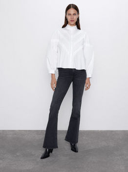 Блуза ZARA Белый 4786/305/250