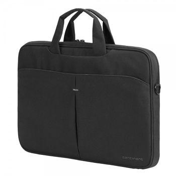 """Continent NB bag 15.6"""" - CC-012 Black, Top Loading"""