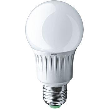 Лампа светодиодная ( холодный белый свет) NLL-A65-12-230-4K-E27,  12W
