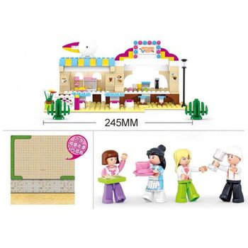 купить Sluban Girls Dream Конструктор Outdoor в Кишинёве