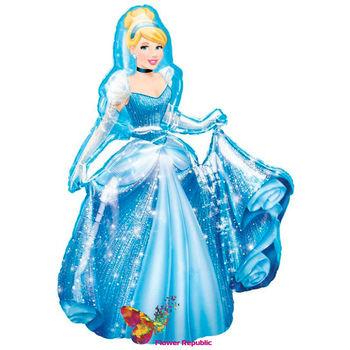 """купить Ходячий фольгированный воздушный шар «Принцессы Диснея"""" в Кишинёве"""