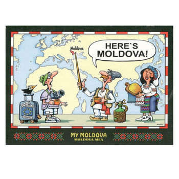 cumpără Набор почтовых открыток – MY MOLDOVA în Chișinău