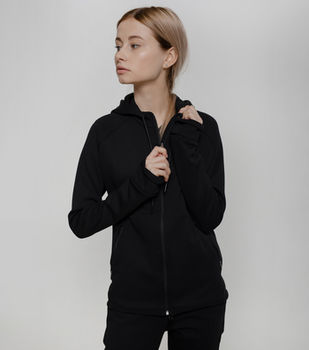 купить Женская черная спортивная куртка AIMO JF009 в Кишинёве