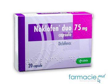 купить Наклофен, Дуо, капсулы 75 мг N20 в Кишинёве