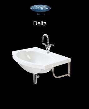 "Раковина DELTA - марки P.A.A. ""фабрика ванн"""