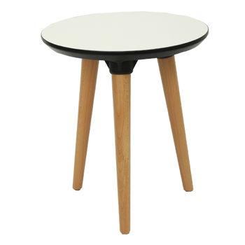 купить Стол с деревянной поверхностью и деревянными ножками, 400x450 мм, белый в Кишинёве