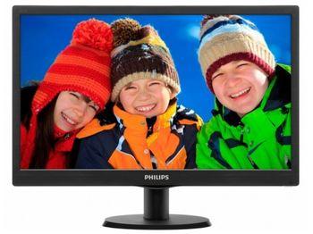 "19.5"" Philips ""203V5LSB26"", Black"