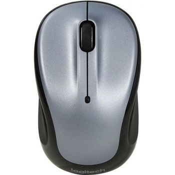 Logitech Wireless Mouse M325, Optical Mouse for Notebooks, Nano receiver, Light Silver,