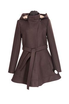 купить Пальто женское Prima Bella, с капюшоном в Кишинёве