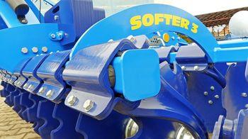 купить Softer 4,5 NS - дисковый лущильник 4,5 метра, с катком - Фармет в Кишинёве
