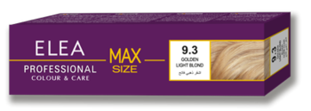 Краска для волос,SOLVEX Elea Max, 100 мл., 9.3 - Светло-русый золотистый