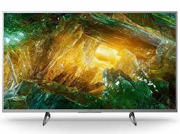 "43 ""LED телевизор SONY KD43XH8077SAEP, Серебристый"