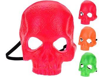 """Маска пластиковая """"Скелет"""", 3 цвета"""