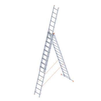 Scara aluminiu Sarayli Triple 3x16