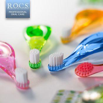 купить R.O.C.S. ВABY - Зубная Щетка 0-3 лет в Кишинёве