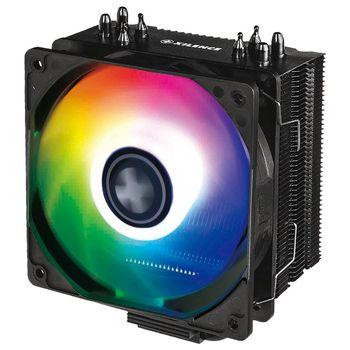 "XILENCE Cooler XC055| ""M704ARGB"" Performance A+ Series, Socket 1151/2066/2011/2066 & AM4/FM2+/AM3+, up to 180W, ARGB LED fan: 120х120х25mm, Hydro-bering fan, 700~1600rpm, 18.0~32.5dBA, 70CFM, 4pin, PWM,  4 heatpipes"