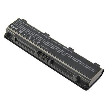 Battery Toshiba Satellite C850 L855 P855 S850 C50-A C50D-A C50T-A C55-A C55D-A C55T-A C50DT C50DT-A C840 C845 C855 C870 C875 S855 PA5108U PA5109U PA5110U PA5023U PA5024U PA5025U PA5026U PA5027U 11.1V 5200mAh Black OEM