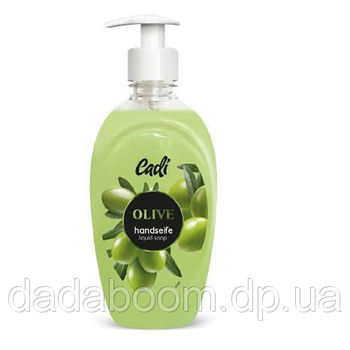 Мыло жидкое Cadi 500ml с ароматом оливок