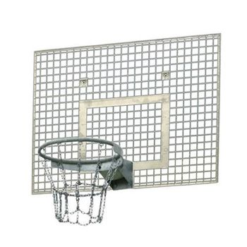 Щит баскетбольный металлический 120х90 см EN 1270, art. 144