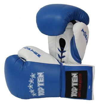 """Боксерские перчатки """"Pro"""" - Top Ten Синие"""