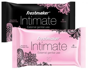 Салфетки влажные Freshmaker Intim 20