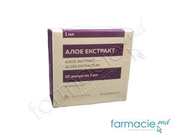 купить Extract aloe sol.inj. 1 ml  N10 (Ucraina) в Кишинёве