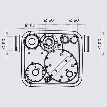 купить SFA SaniCubic 1 NM IP68 канализационная установка в Кишинёве