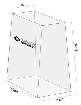 Чехол для теннисного стола вертикальный Donic 828530 (5391)