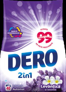 купить Dero Surf Auto  2in1 Лаванда и жасмин, 4 кг. в Кишинёве