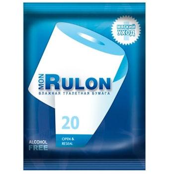 купить Влажная туалетная бумага Rulon 20 шт в Кишинёве