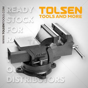 купить Тиски слесарные  100 mm Tolsen в Кишинёве