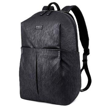 """купить Mужской городской рюкзак Tangcool TC8037, с карманом для ноутбука до 15,6"""", из водоотталкивающей ткани, 20л, Чёрный в Кишинёве"""