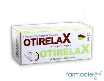 купить Отирелакс, капли ушные 4% 15 мл (феназона + лидокаин) в Кишинёве