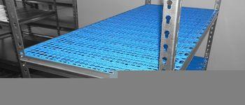 cumpără Raft metalic galvanizat cu placă din plastic Gama Box  1195Wx505Dx2130H mm, 8 polițe/PLB în Chișinău