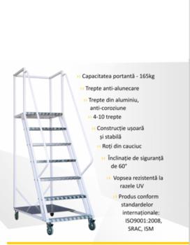 купить Лестница платформа Gama Cirrus в Кишинёве
