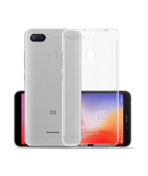 cumpără Husa TPU Xiaomi Redmi 6, Transparent în Chișinău