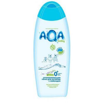 купить AQA baby Пена для купания успокаивающая с лавандой 500 мл в Кишинёве