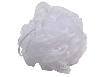 Мочалка для тела шар Tendence, белая