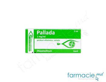 купить Pallada pic. oft., sol. 1 mg/ml  5 ml N1 в Кишинёве