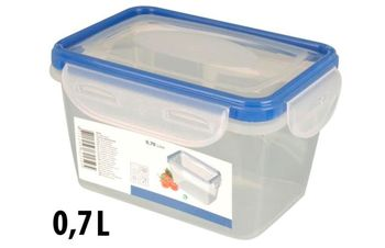 Емкость пищевая пластиковая EH 0.7l, 15.5X11X9cm