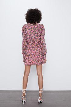 Платье ZARA Цветочный принт 2122/618/050