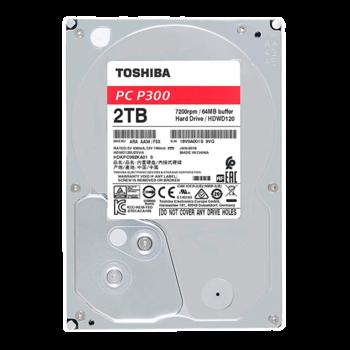 """купить Жесткий диск 3.5"""" HDD 2.0TB  Toshiba HDWD120UZSVA  P300, for Desktop, 7200rpm, 64MB, SATAIII в Кишинёве"""