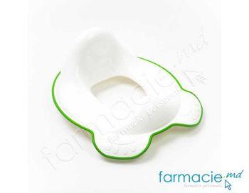 купить Седушка для унитазов NUK белый / зеленый в Кишинёве