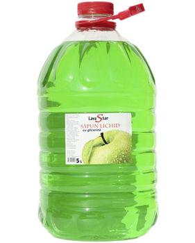 Жидкое мыло яблоко Kimya 5 л