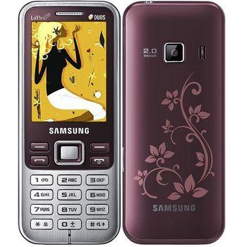 Samsung C3322 Scarlet Red 2 SIM (DUOS)