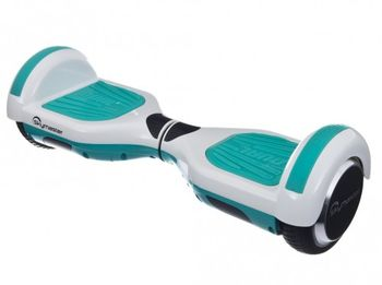 """Skymaster Wheels Dual 11 Hoverboard, White/Mint, Wheel 10.0"""", Speeds of up to:15km/h, LG Battery capacity: up to 20km, Weight:10.8kg, Maximum load: 85kg, Power Wheels: 300W, Bluetooth (Speakers), Carry Bag, Taotao motherboard"""