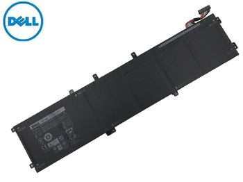 Battery Dell XPS 15 9560 9550 Precision 5510 5520 M5510 M5520 6GTPY 5XJ28 4GVGH 1P6KD 11.4V 7260mAh Black Original