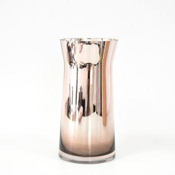 Декоративная ваза, GS, Стекло, 28см, Медь