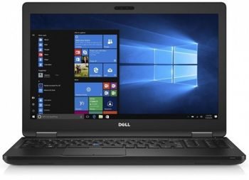 DELL Latitude 5580 Black, 15.6'' FuIIHD +W7/10Pro (Intel® Core™ i5-6200U up to 2.8GHz, 8GB DDR4 RAM, 256GB SSD, InteI® HD520 Graphics, no ODD, CardReader, WiFi-AC, BT4.0, HDMl, 4cell, 1.0 MP HD Webcam, BackIit KB, W7Pro (W10Pro), 1.9 kg)