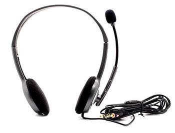 Logitech H110 Grey Stereo Headset, Headset: 20Hz-20kHz, Microphone: 100Hz-16kHz, 2m cable, 2 x mini-jack 3.5mm 981-000271 (casti cu microfon/наушники с микрофоном)